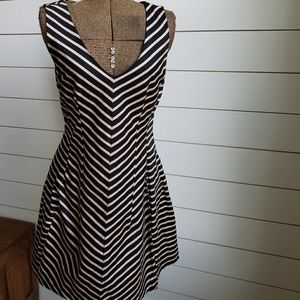 Monteau Striped Dress